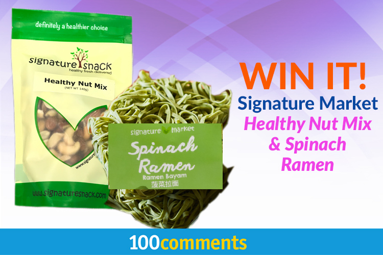 Signature-Market-Healthy-Nut-Mix-and-100%-Natural-Spinach-Ramen