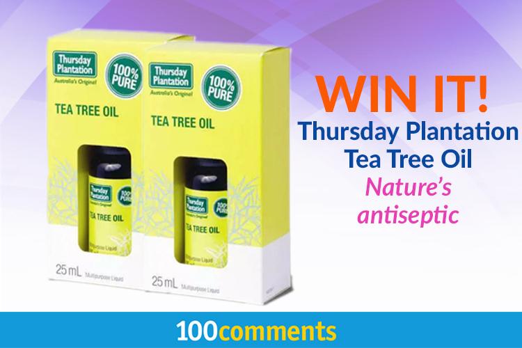 Thursday Plantation Tea Tree Oil Contest