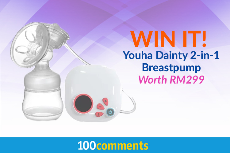 YOUHA Dainty Two in One Single Breast Pump