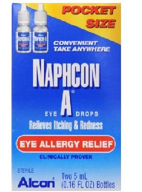 Alcon Laboratories Naphcon-A Eye Allergy Relief Eye Drops