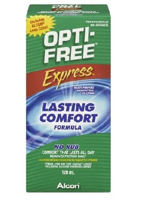 Alcon OPTI-FREE Express Multipurpose Contact Lens Solution