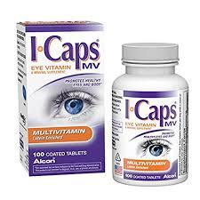 Alcon I Caps Multivitamin Eye Vitamin and Mineral Support