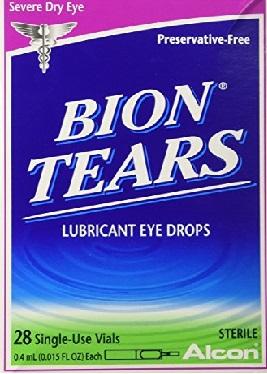 Alcon Bion Tears Single-Use Vials