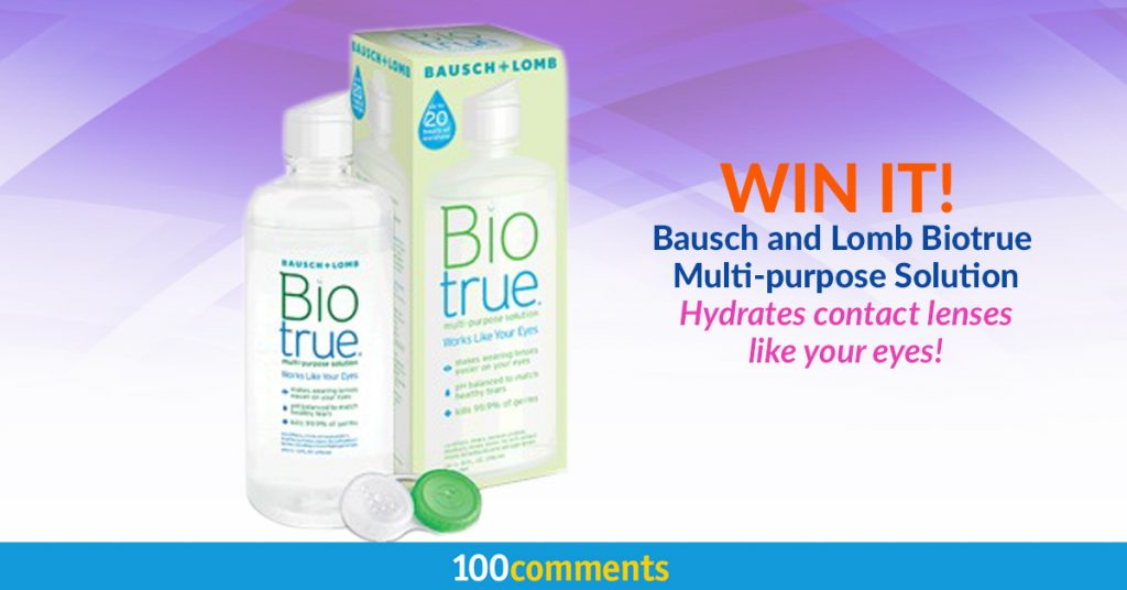 Bausch and Lomb Biotrue Multi-purpose Solution