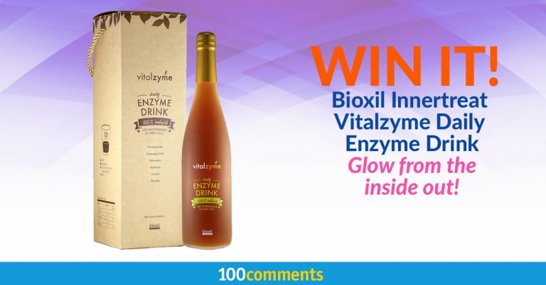 Bioxil Innertreat Vitalzyme Daily Enzyme Drink Contest