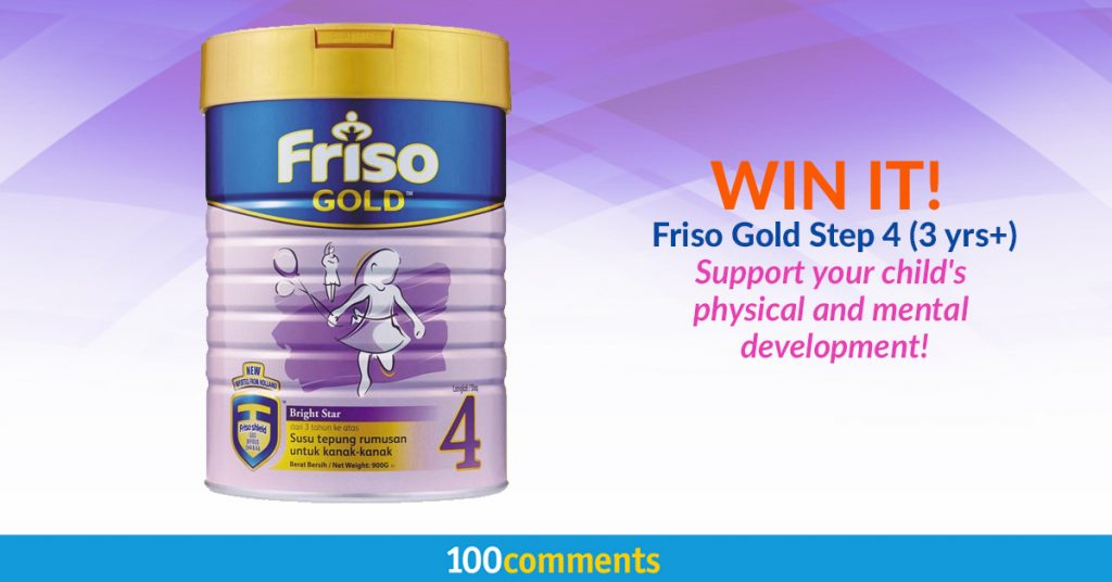Friso Gold 4 Giveaway