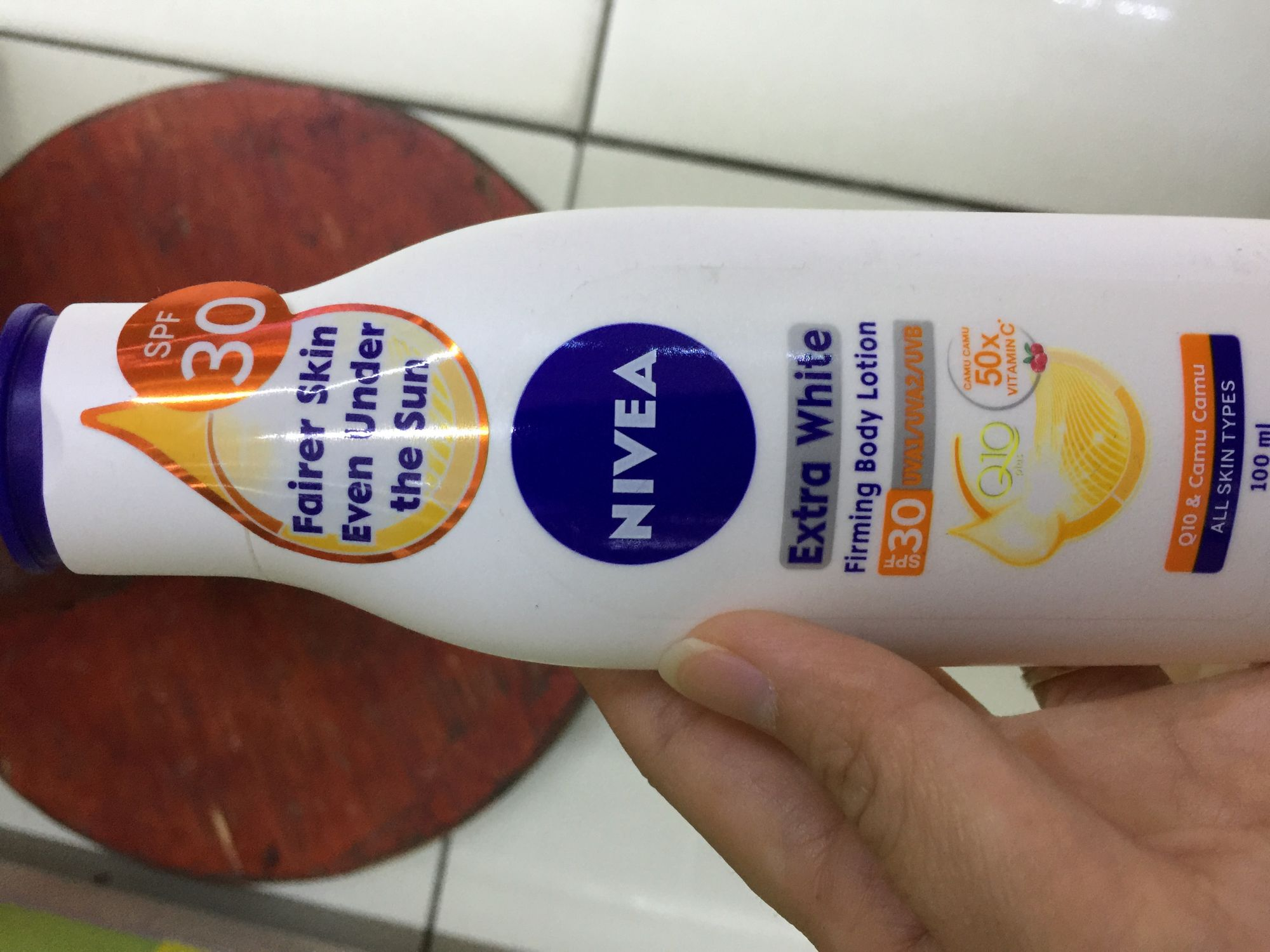 Nivea Instant White Firming Body Lotion Spf15 Reviews Extra 400 Ml Uv Whitening Is Not Sticky After I Applied It On My Or Hands Its Fragrance Refreshing And Can Feel The Be Absorbed