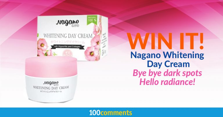 Nagano Whitening Day Cream Contest