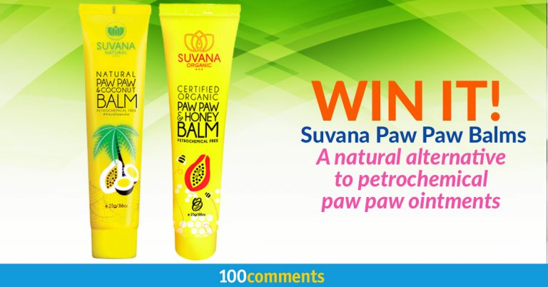 Suvana Paw Paw Balm Contest