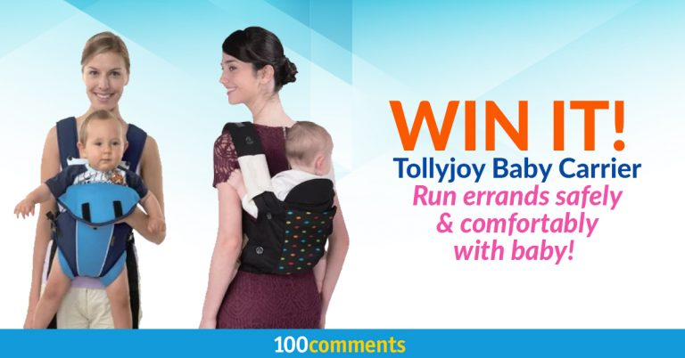Tollyjoy Baby Carrier Contest