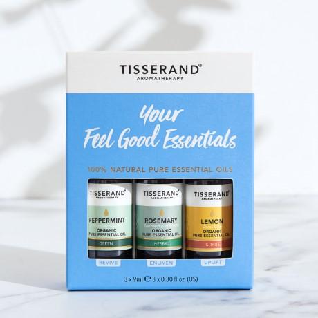 Tisserand Aromatherapy Your Feel Good Essentials Kit
