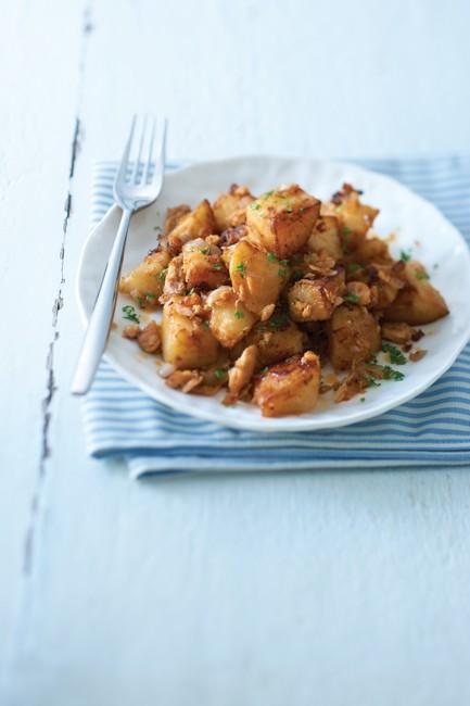 spicy tuna potato