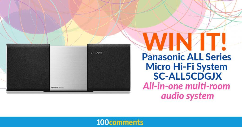 Panasonic All Series Micro Hi-Fi System SC-ALL5CDGJX