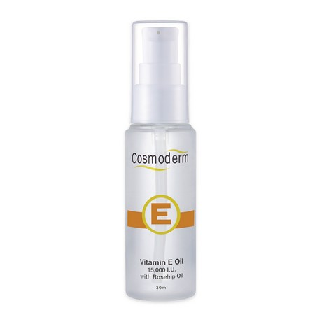 Cosmoderm Vitamin E 15,000 IU With Rosehip Oil