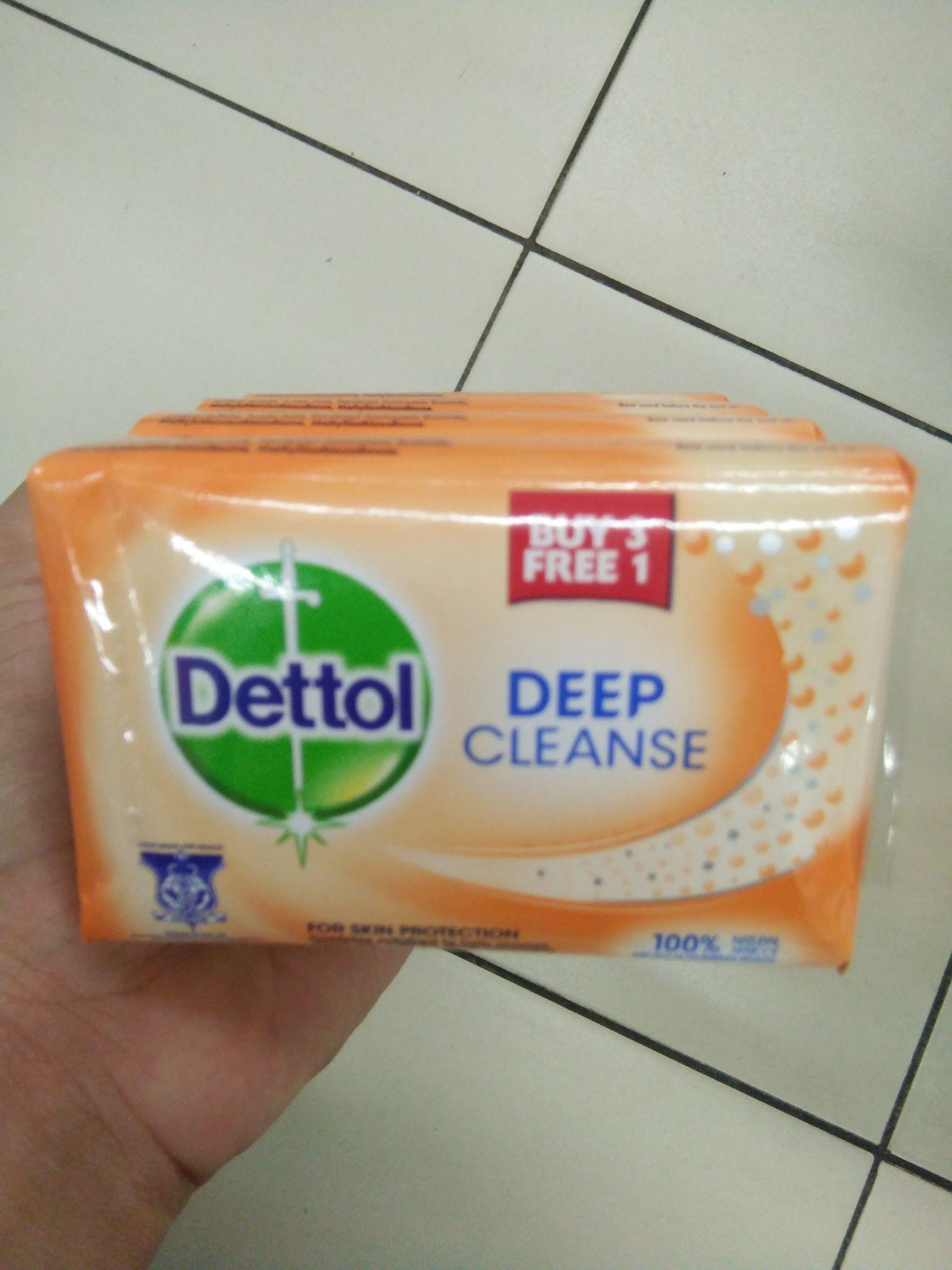 Dettol Deep Cleanse Bar Soap Reviews