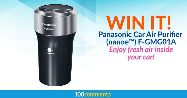 Panasonic Car Air Purifier (nanoe™) F-GMG01A Contest