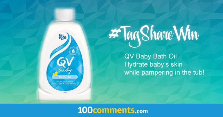 QV Baby Bath Oil Contest
