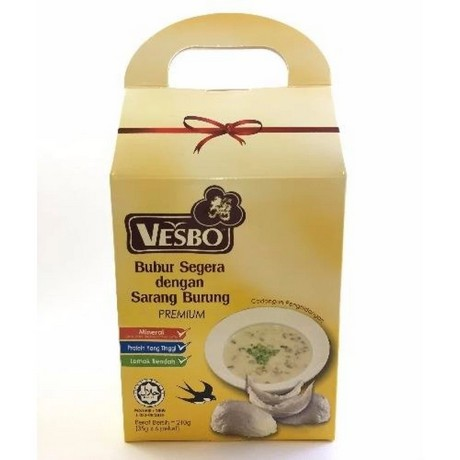 Vesbo Instant Porridge with Bird's Nest