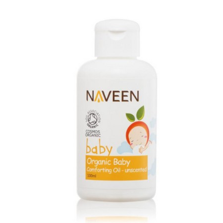 NAVEEN Organic Baby Comforting Oil Unscented