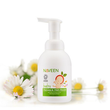 NAVEEN Baby Shampoo & Wash Mousse
