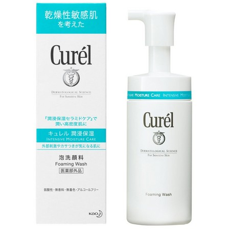 Curél Foaming Wash