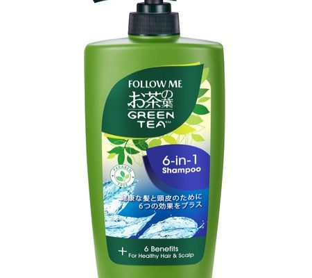 Follow Me Green Tea 6 in1 Shampoo