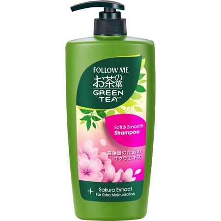Follow Me Green Tea Soft & Smooth Shampoo