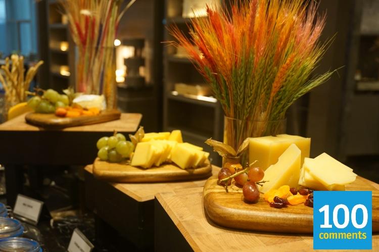 Kwee Zeen @ Sofitel KL - Cheese spread
