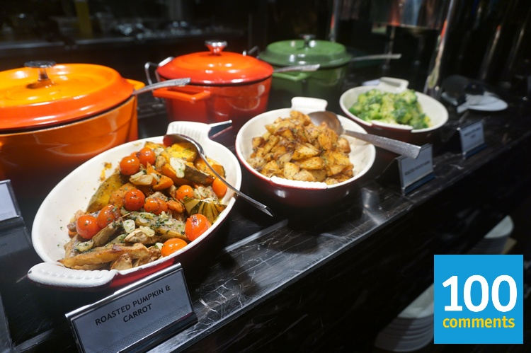 Kwee Zeen @ Sofitel KL - Roasted vegetables