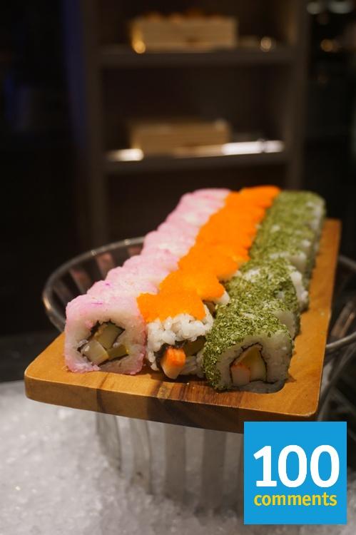Kwee Zeen @ Sofitel KL - Sushi