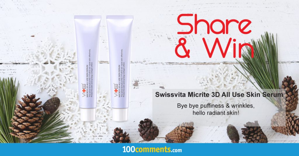 Swissvita Micrite 3D All Use Skin Serum Contest