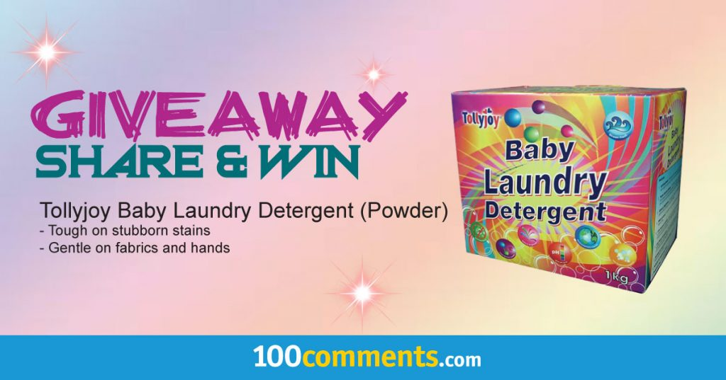 Tollyjoy Baby Laundry Detergent (Powder) Contest