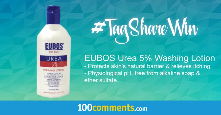 EUBOS Urea 5% Washing Lotion Contest