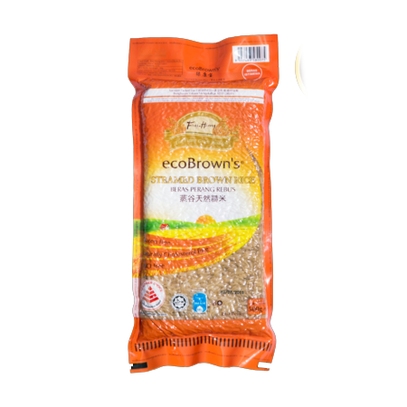 ecoBrown's Steam Brown Rice