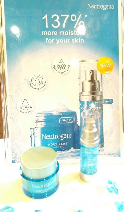 Neutrogena Hydro Boost Capsule In Serum and Water Gel - Get 137% moisture