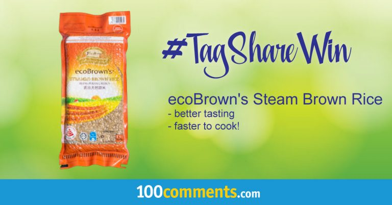 ecoBrown's Steam Brown Rice Contest