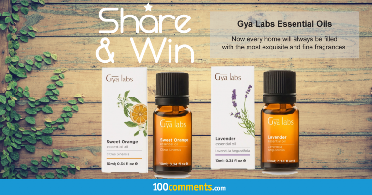 Gya Labs Essential Oils Contest