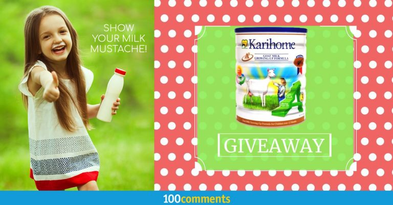 Karihome Goat Milk Growing-Up Formula Contest