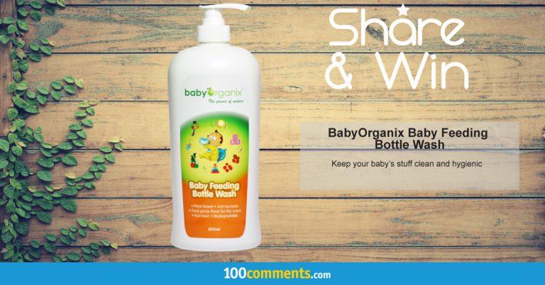 BabyOrganix Baby Feeding Bottle Wash Contest