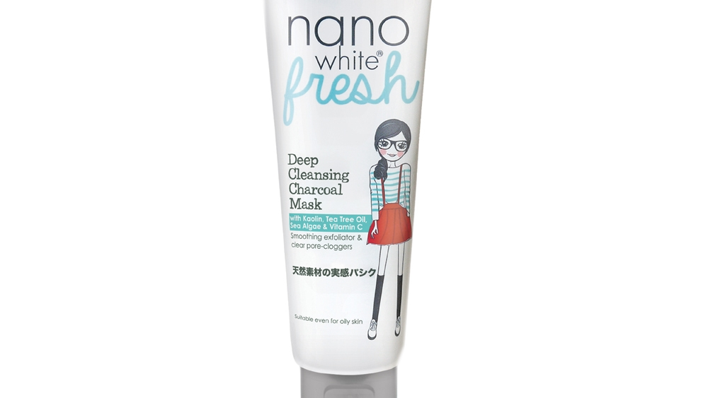 Nano White Fresh Deep Cleansing Charcoal Mask