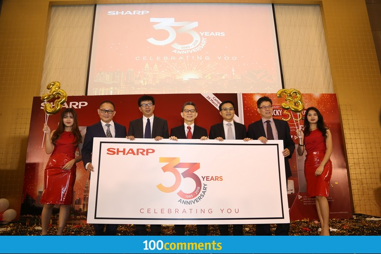 Sharp 33rd Anniversary Campaign