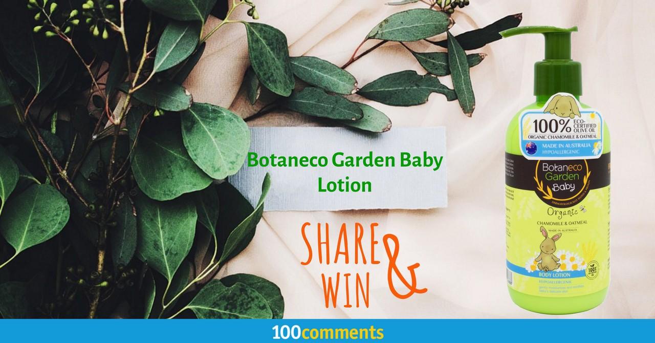Botaneco Garden Baby Lotion Contest