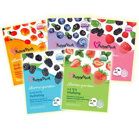 HappyMask Berries Garden Face Mask