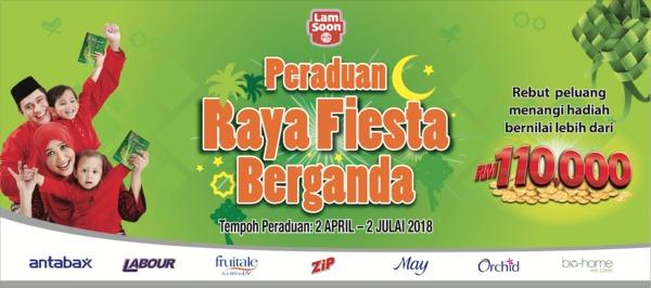 Lam Soon's Raya Fiesta Berganda Contest