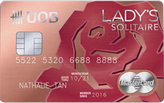 Uob Lady S Solitaire Card Reviews
