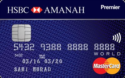 HSBC Amanah Premier World MasterCard-i reviews