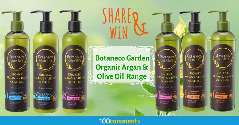 Botaneco Garden Organic Argan & Olive Oil Contest