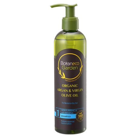 Botaneco Garden Organic Argan & Virgin Olive Oil Moisturising & Nourishing Shampoo