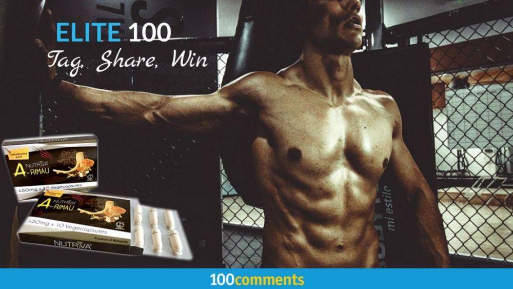 Nutriva A-Rimau Contest - Elite 100
