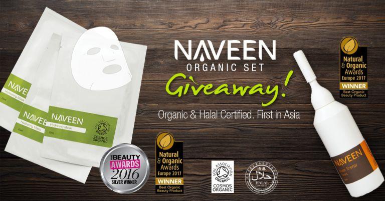 NAVEEN Organic Set Giveaway